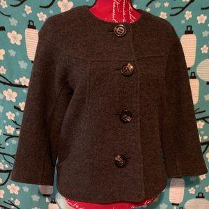 Talbots wool jacket medium